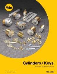 Cylinders/Keys - Locksmith Security Association of Michigan - LSA