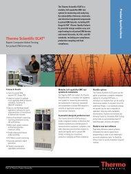 Thermo Scientific ECAT®