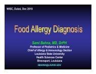 Sami Bahna - World Allergy Organization