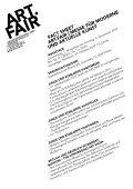 Messe für Moderne und aktuelle kunst 01.– 04.11.2012 ... - Art.Fair - Page 2