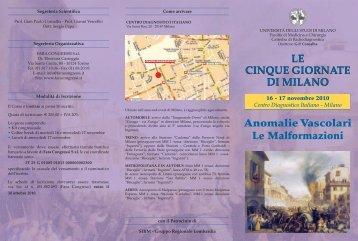 LE CINQUE GIORNATE DI MILANO LE CINQUE GIORNATE ... - CDI