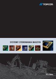 SYSTEMY STEROWANIA MASZYN - Topcon Positioning