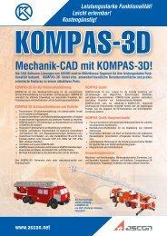 Mechanik-CAD mit KOMPAS-3D!