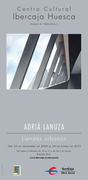 29383 A.LANUZA-cartel gris - Ibercaja