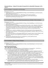 Notwendige Unterlagen für die meldeamtliche Eintragung von EU