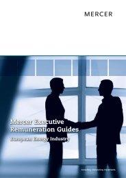 MERG - European Energy Industry Brochure - iMercer.com