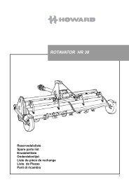rotavator hr 38 - Kongskilde