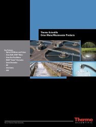 thermo Scientific Orion Water/Wastewater ... - Colonial Scientific