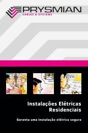 Manual de instalações elétricas residenciais - Prysmian