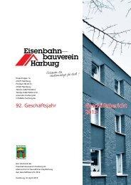 Geschäftsbericht 2012 - Eisenbahnbauverein Harburg