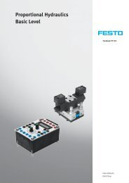 Proportional hydraulics (Textbook) - Festo Didactic