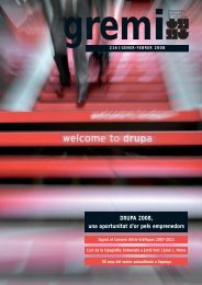 DRUPA 2008, una oportunitat d'or pels emprenedors - Gremi d ...