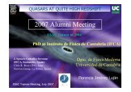 Quasars at quite high redshift - ESAC Trainee Project