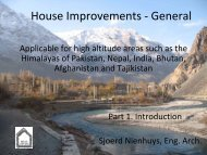House Improvement General. Introduction Part 1. Applicable for high ...