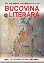Bucovina lit. 1-2 din 2012 - Liviu Ioan Stoiciu