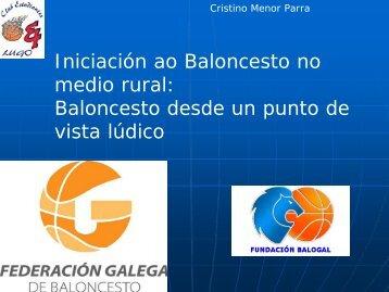 Iniciación ao baloncesto no medio rural - club del entrenador