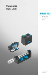 Fundamentals of Pneumatics (Cllection of ... - Festo Didactic