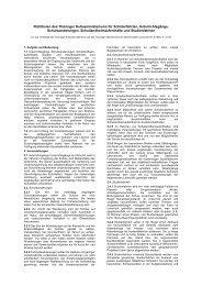 Richtlinien des Thüringer Kultusministeriums  für Schülerfahrten ...