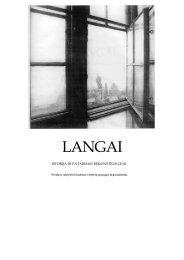 Langai - Kultūros paveldo departamentas