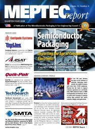 Semiconductor Packaging - meptec.org