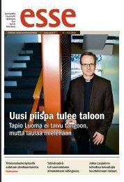 Esse 06/2012 (pdf) - Espoon seurakuntasanomat
