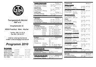 Programm 2010 - TG Höchst 1847