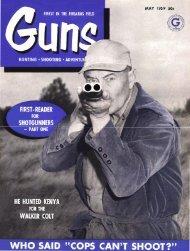 GUNS Magazine May 1959
