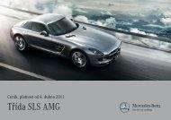 Třída SLS AMG - Mercedes-Benz PRAHA