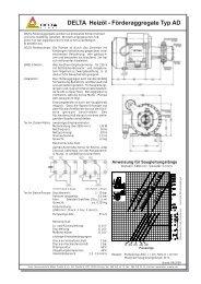 DELTA Heizöl - Förderaggregate Typ AD - tetec thermo-technik ...