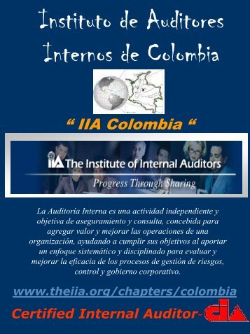 Afíliese al IIA-Colombia - The Institute of Internal Auditors