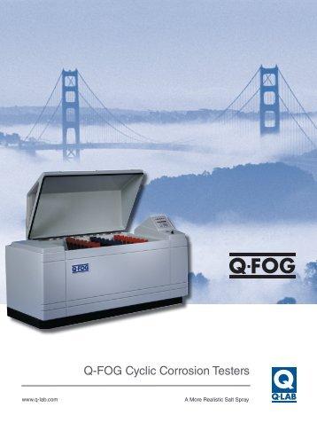 Q-FOG Cyclic Corrosion Testers - Q-Lab