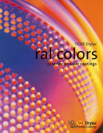 Color chart - Conceptual Site Furnishings, Inc.