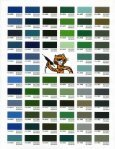 Color chart - Conceptual Site Furnishings, Inc. - Page 3