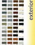 Color chart - Conceptual Site Furnishings, Inc. - Page 5