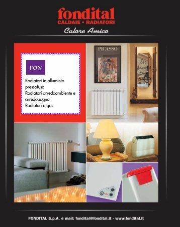 Catalogo completo Fondital - Certened