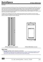 HP Rack 10000 G2 Series