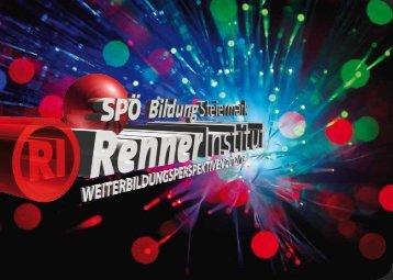 """""""Weiterbildungsperspektiven"""" 2012/13 als pdf zum ... - Renner Institut"""