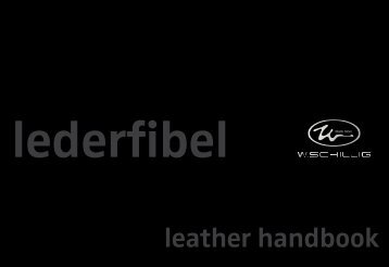 Lederfibel - W.SCHILLIG black label