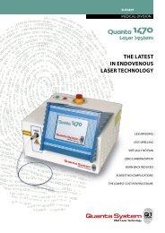 Quanta System Diode 1470 laser - MediCom
