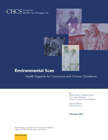 Environmental Scan - Center for Health Care Strategies
