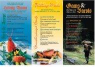 samstag im april - Menü-Restaurant und Landhotel Ludwig Thoma ...
