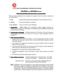 WALK-IN-INTERVIEW FOR DOCTORS on Contract Basi - Heavy ...