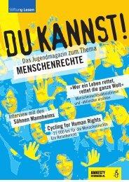 AI_ePaper_Jugendmagazin.pdf - Amnesty International