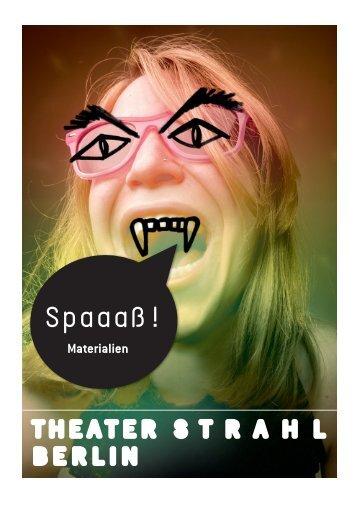 "Jugendsprache in Berlin-Neukölln: Wir sagen ""Du ... - Theater Strahl"