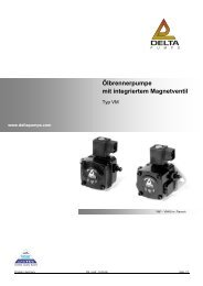 Ölbrennerpumpe mit integriertem Magnetventil - tetec thermo ...