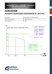 KB 55 - EB 75 KS cz - GLOBAL elevators sro