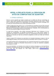appel a projets pour la creation de sites de compostage de quartier