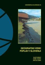 geografski vidiki poplav v sloveniji - Geografski inštitut Antona ...