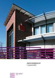 Zwischenbericht 1. Quartal 2010 - Fair Value REIT-AG