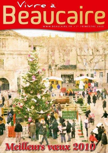 Meilleurs vœux 2010 - Beaucaire